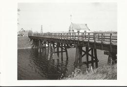 Knokke - Brug Ramskapelle-Knokke Leopoldsvaart - Foto 15x10.5 Cm - 1956 - Knokke