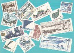 Zweden - Zweedse Postzegels Uit 1969-1970 - Ongebruikt/mint - Postzegels (afbeeldingen)