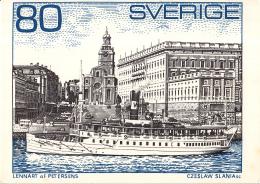 """Zweden - Schärenschiff """"Storskär"""" (1908) - Koninklijk Paleis - Ongebruikt/mint - M 700 - Postzegels (afbeeldingen)"""