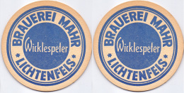 #D183-069 Viltje Brauerei Mahr - Sous-bocks