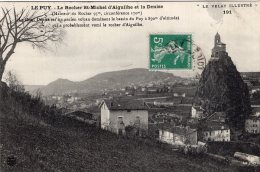 B42169 Le Puy, Le Rocher St Michel - France