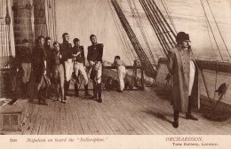"""B42206 Napoleon On Board The """" Bellerophon"""" - Regno Unito"""
