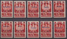 Poland, Liberation Of Polish Cities, Complete Set, MNH, Very Good Quality, Mi. 390 I/X. - Nuevos