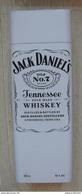 AC - JACK DANIEL'S OLD NO#7 TENNESSEE WHISKEY 150th ANNIVERSARY 1 LITRE EMPTY TIN BOX BLIK FROM TURKEY - Dosen