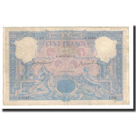 France, 100 Francs, 1907-11-18, KM:65e, TB+, Fayette:21.22 - 1871-1952 Antichi Franchi Circolanti Nel XX Secolo