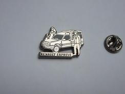 Arthus Bertrand , Auto Renault Express , Fond Argent - Arthus Bertrand