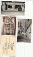 """BRUXELLES - Boulevard Maurince Lemonnier 168  - KLIMIS """"Au Plongeur"""" Commerce D'éponges (2 Photos Et Carte Visite Pub) - Old Professions"""