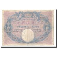 France, 50 Francs, 1906-04-25, KM:64d, TB+, Fayette:14.18 - 1871-1952 Anciens Francs Circulés Au XXème