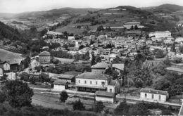 CPSM Dentellée - BOURG ARGENTAL (42) - Aspect Du Bourg Et De La Gare En 1950 - Bourg Argental