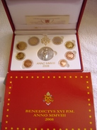 Coffret BE Proof PP 2008 VATICAN Vatikan Vaticano Vatikaan Avec Embalage Et Certificat D'authenticité - Vatican