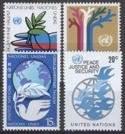 UNO NEW YORK 1979 Mi-Nr. 328/31 ** MNH - New York -  VN Hauptquartier