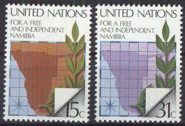 UNO NEW YORK 1979 Mi-Nr. 336/37 ** MNH - New York -  VN Hauptquartier