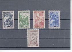 Saarland Volkshilfe  267- 71    **  Postfrisch (  N  9434  ) - 1947-56 Protectorate