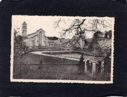 """74821   Belgio,  Abbaye  N.-D. D""""Orval,  La Cour D""""Honneur Et La Basilique,  NV - Belgique"""