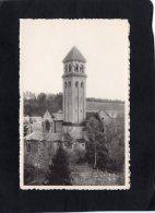"""74824   Belgio,  Abbaye  N.-D. D""""Orval,  Le   Clocher De La Basilique  Et Le Cimetiere Des Moines,  NV - Belgique"""