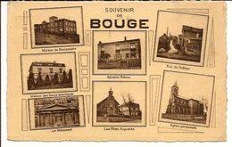 BOUGE SOUVENIR DE BOUGE  NAMUR 1951  TIMBRE DISPARU 1289/d4 - Belgique