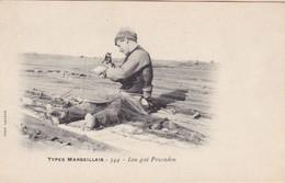 13 / MARSEILLE / LACOUR 344  / TYPES MARSEILLAIS / LOU GAI PESCADOU - Marseille