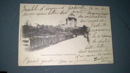 CPA -  SAULIEU - Château De Gabrielle D'Estrées à La Motte Ternant - Saulieu