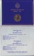 Coffret BU KMS 2 Euros Commemorative 2007 VATICAN Vatikan Vaticano Vatikaan 80 Anniversaire Benoit XVI - Vatican