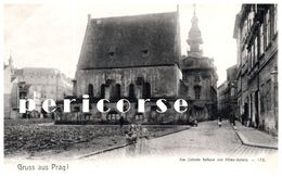 Tchéquie  Gruss Aus Prag  Synagogue - Czech Republic