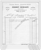 55 156 BAR LE DUC MEUSE 1912 Peche Et Confitures PERNET MORIAUX Succ JEANNIN - REMY Bd De La Rochelle - Drogisterij & Parfum