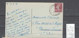 Lettre Cachet  Ambulant   Strasbourg à Belfort 1ere  -Alsace -L - Indice 8 - Railway Post