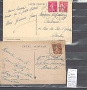 Lettre Cachet  Ambulant   Bollwiller à Lautenbach Et Retour -Alsace -L - Indice 7 - Railway Post