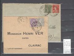 Lettre Cachet  Ambulant   Haguenau à Sarreguemines   -Alsace -L - Indice 7 - Railway Post