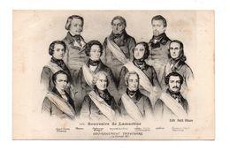 POLITIQUE . SOUVENIRS DE LAMARTINE . GOUVERNEMENT PROVISOIRE 1848 - Réf. N°6922 - - Personaggi