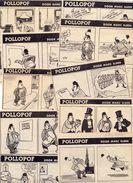 Pollopof - Marc Sleen - Originele Knipsels Zondagsvriend 1949 - 10 Stuks - Other