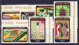 BURUNDI, COB  373/9 ** MNH. (4Z204) - Burundi