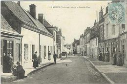 Indre Et Loire : Bléré, La Croix, Grande Rue - Bléré