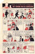 Kuifje - Het Geheim Van De Eenhoorn - Origineel Knipsel 1954 - Kuifje