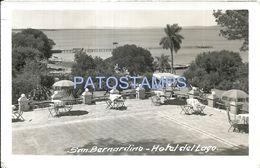 84067 PARAGUAY SAN BERNARDINO DTO CORDILLERA HOTEL DEL LAGO TERRAZA POSTAL POSTCARD - Paraguay