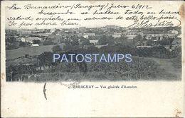 84068 PARAGUAY ASUNCION VISTA GENERAL BREAK POSTAL POSTCARD - Paraguay