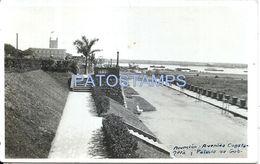 84072 PARAGUAY ASUNCION AVENIDA COSTANERA Y PALACIO DE GOBIERNO POSTAL POSTCARD - Paraguay