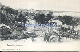 84073 PARAGUAY ASUNCION CHACARITA VISTA PARCIAL POSTAL POSTCARD - Paraguay