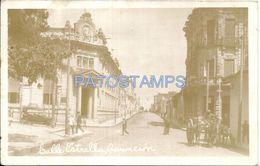 84075 PARAGUAY ASUNCION STREET CALLE ESTRELLA CART A HORSE POSTAL POSTCARD - Paraguay