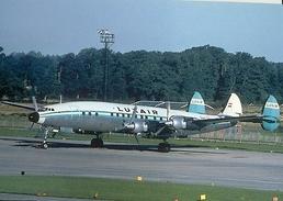 Aviation Postcard-327  LUXAIR L-1649 Constellation - 1946-....: Moderne