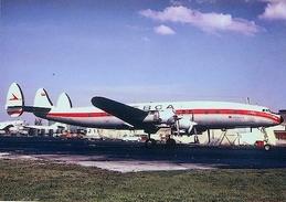 Aviation Postcard-328  LEBCA Venezuela L-1049 Constellation - 1946-....: Moderne