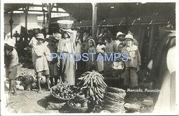 84078 PARAGUAY ASUNCION COSTUMES MARKET MERCADO POSTAL POSTCARD - Paraguay