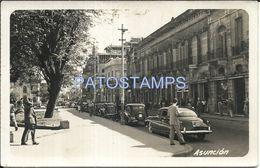 84080 PARAGUAY ASUNCION STREET CALLE AÑO 1952 POSTAL POSTCARD - Paraguay