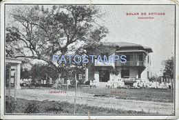 84081 PARAGUAY ASUNCION SOLAR DE ARTIGAS IBIRAPYTA ESCUELA CUT POSTAL POSTCARD - Paraguay