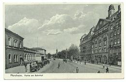 Pforzheim Partie Am Bahnhof 1938 - Pforzheim