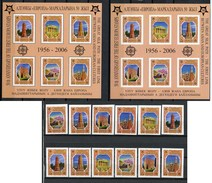 2006 - KIRGHIZSTAN - Mi. Nr. 449/454 A/B  + BL 44 A/B - NH -  (UP.70.13) - Kirghizstan