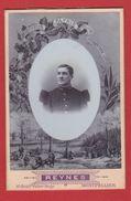 Photo  -- Soldat Français  - Atelier Reynes --  Montpellier  -  Grand Format - War, Military