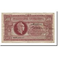 France, 500 Francs, 1945, TB, Fayette:VF11.2 - Tesoro