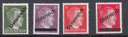 Austria (1945) - Zona Sovietica - Mi. 660/663 ** - 1945-60 Nuovi & Linguelle