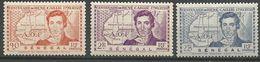 SENEGAL N° 150 à 152 NEUF*  CHARNIERE / MH - Sénégal (1887-1944)