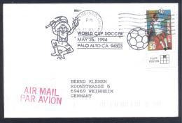 USA 1994 Cover: Football Soccer Fussball Calcio; FIFA WM World Cup Mudial; Palo Alto; Mine Minerals Minaraux Gold Finder - Mineralien